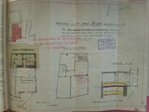 Bateliers n° 27 (quai des) – Plan Nadler, projet de 1908