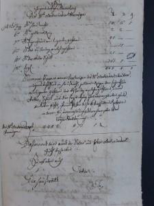 Me Stoeber (6 E 41, 1183) acte 1217, série des rubriques