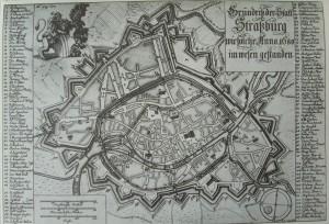 Strasbourg en 1680