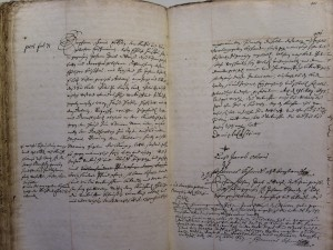 Chambre des contrats vol. 379, année 1693, f° 399-400