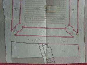 AA 2090, Plan du memoire (détail)