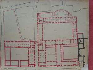 Collège Royal, projet de 1755 (Arch. mun. C I, 28)