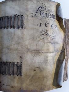 Chambre des contrats n° 564, Registranda de 1692 (couverture)