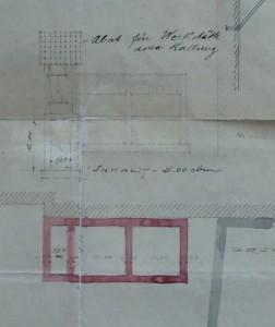 Marais Kageneck 13 projet de 1902, bâtiment