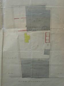 Marais Kageneck 13 projet de 1902, bâtiments
