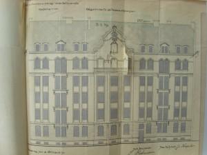 Plan des façades sur rue (Anvers n° 31)