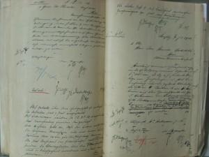 Anvers 31, double page du dossier