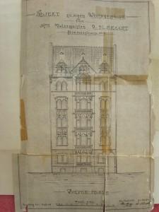 Stimmer 5, plan de la façade