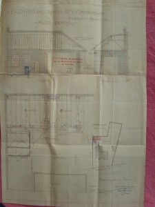 Plan du garage, allée de la Robertsau 76, 1907