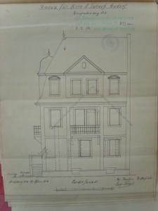 Graviere 3, nouvelle façade, 1912