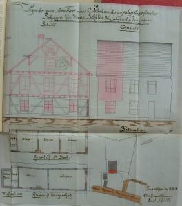 Neuziel n° 7, plan de 1898