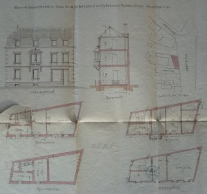 Boecklin 109, plan d'architecte