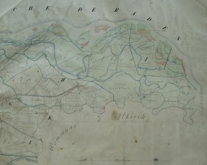 Cadastre de 1837, Tableau d'assemblage partie sud