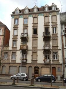 50 rue de Zurich (novembre 2010)