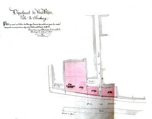 Plan Quai des Pêcheurs (1843)