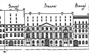 Ilot 57 Elévation hôtel d'Andlau