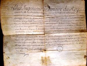 Titre Tarade (1693)