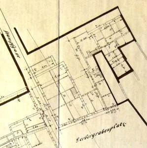 Gerbergrabenplatz 6, Plan (907 W 161)