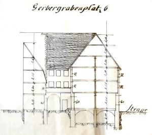 Gerbergrabenplatz 6, coupe (907 W 161)