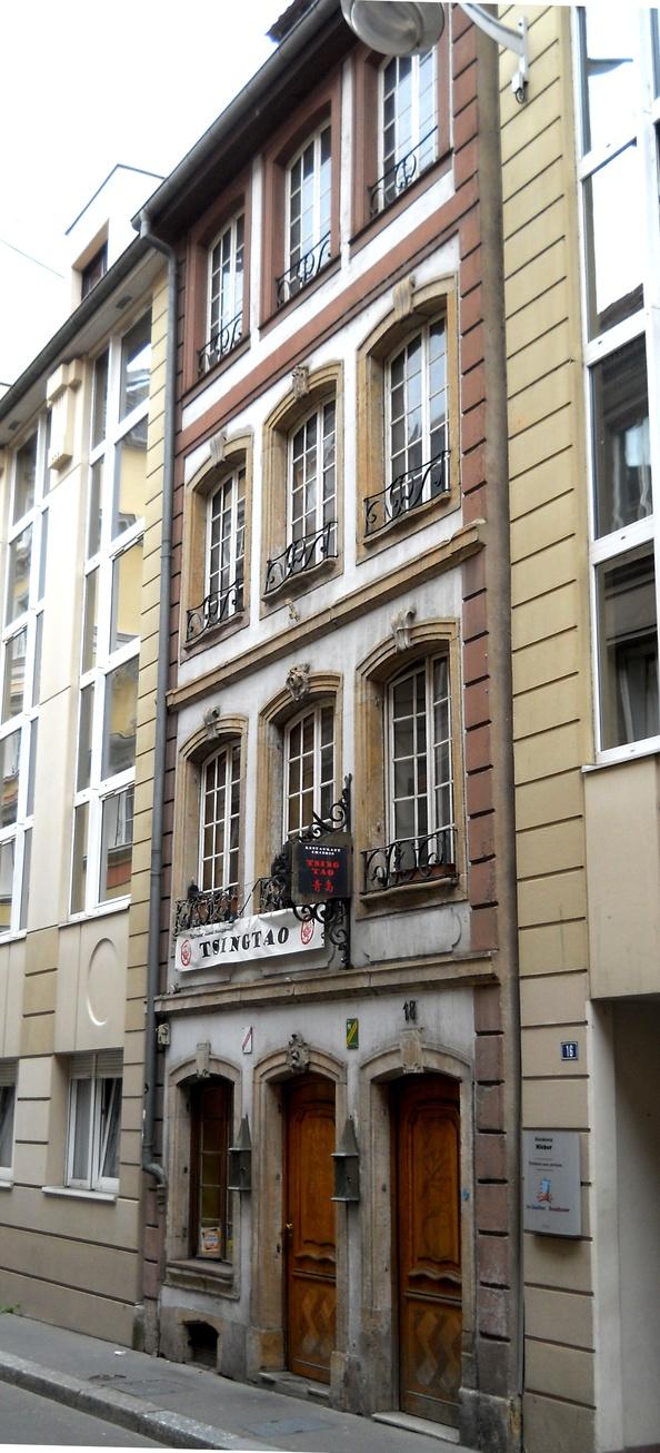 Maisons de strasbourg 18 rue hannong - Bureau de tabac strasbourg ...