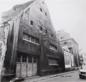 Kageneck 24 (1972) façade rue du Feu