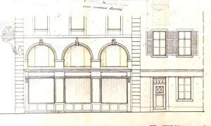 Grand rue 146, Miroir 6, 4 (dessin 1924)