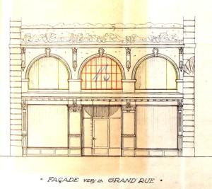 Grand rue 146 (dessin 1924)