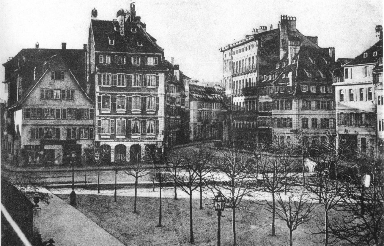 Maisons De Strasbourg 23 Place Broglie