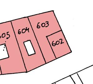 Cadastre N 602-604