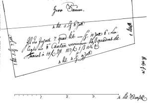 Plan Saum (1767, Bauherren f° 78)