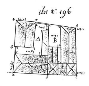 196 Plan (Cahier C)
