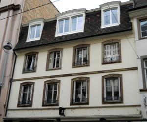 Francs-Bourgeois 19 (détail)
