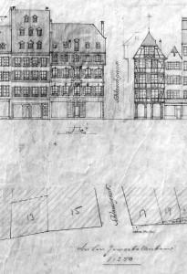Dessins 1911 (Grandes Arcades 13-19) 843 W 546