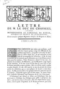 Choiseul (1762)