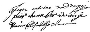 Denoyé (Cm. 1742)