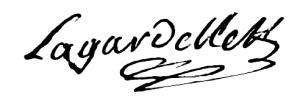 Lagardelle (Arnaut, 1718) Et i 144