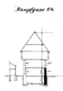 Stampfgasse 24, Schnitt (907 W 161)