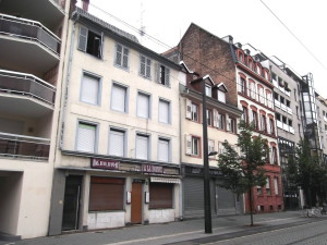 Faubourg de Saverne 34-40 (juillet 2014)