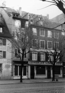 Faubourg de Saverne 40-42, vers 1942 (AMS, cote 1003 W 2 n° 690)