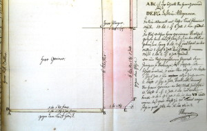 Plan Greiner (1767, VII 1412)