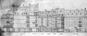 Grande rue de la Grange 12-22, élévations