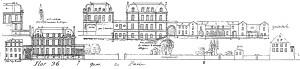 36 (Cahier C) Elévations Quai de Paris
