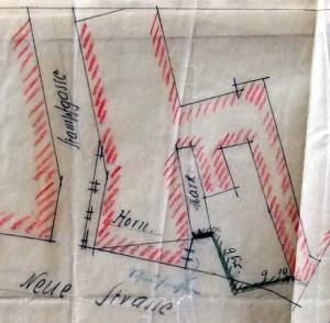 Hôtel Hannong, plan de situation 1913 (720 W 101)
