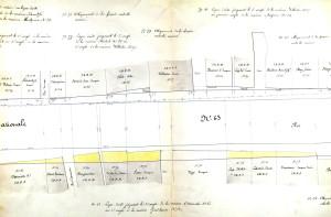 1851 Fg. de Pierre 20-31 et 73-82 (5 K 123)