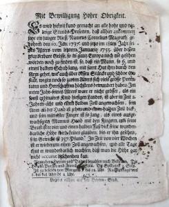 Affiche Géant (IX 89, allemand)