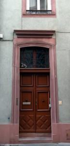 Brûlée 23 (porte)