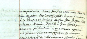 Chambre des Contrats 1690 (KS 562, p. 732-v°)