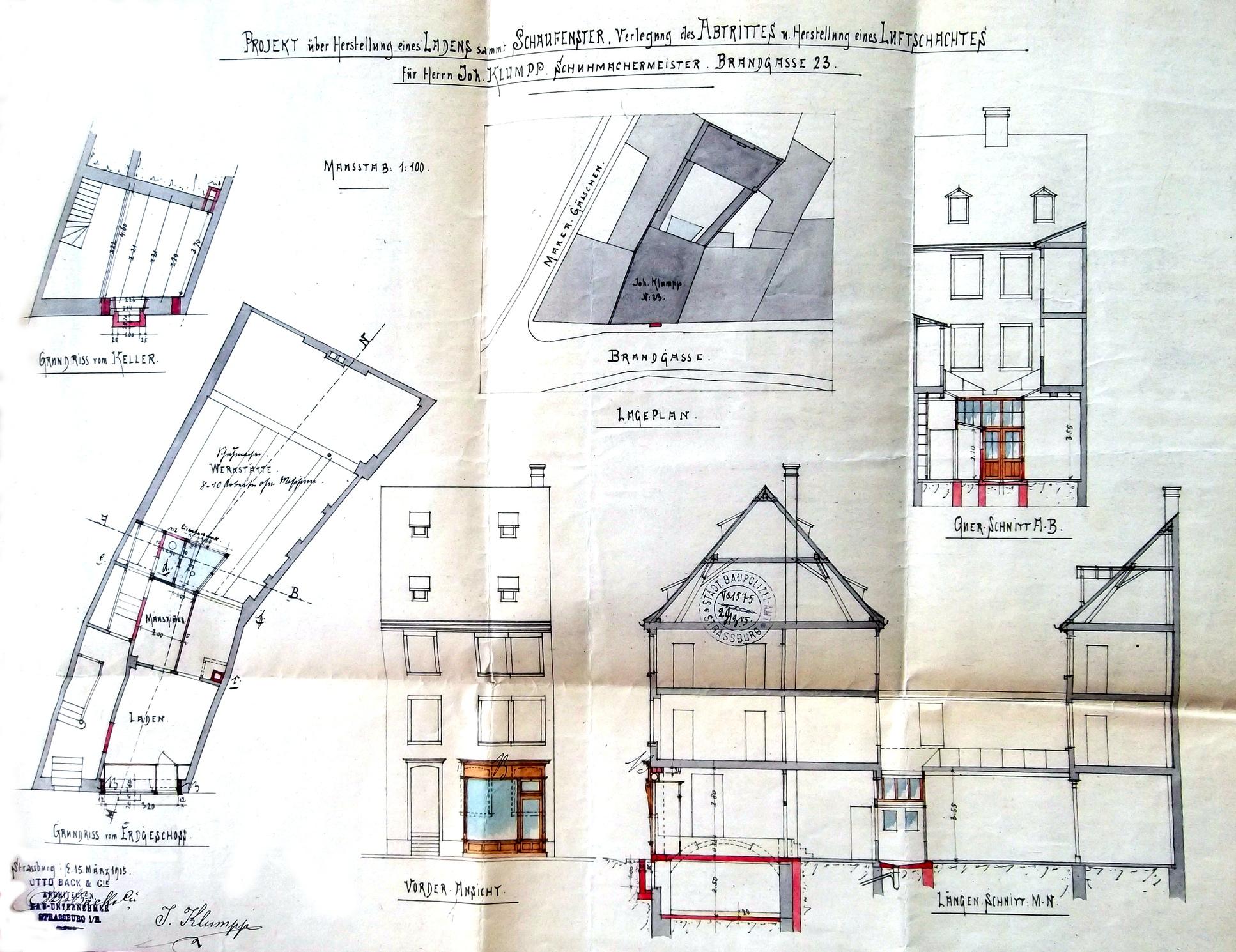 rue jacobi netter strasbourg plan. Black Bedroom Furniture Sets. Home Design Ideas