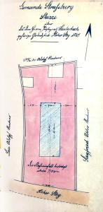Plan cadastral 1905