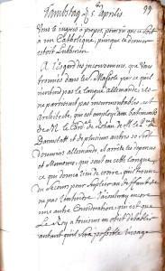 XV, 1738 (3 R 84)